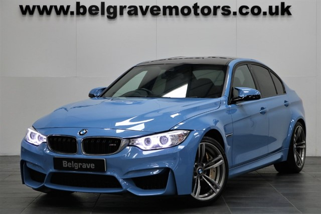 used BMW M3 DCT AUTO HUGE SPEC HEAD UP DISPLAY SAT NAV LEATHER in sheffield