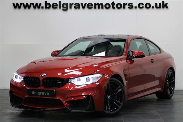 used BMW M4 DCT HUGE SPEC CARBON PACK PRO SAT NAV & MEDIA in sheffield