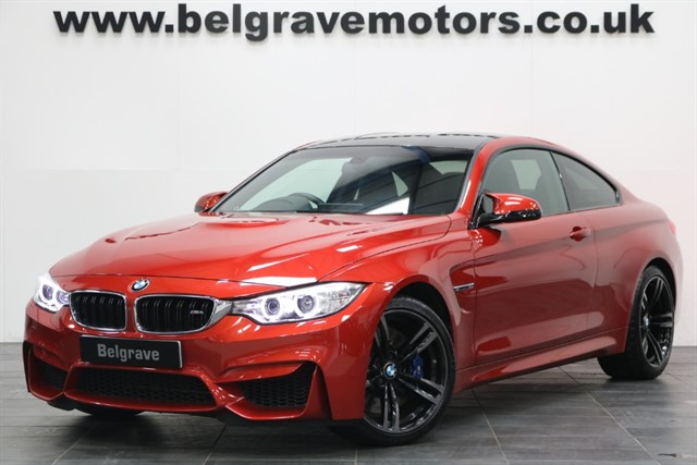 used BMW M4 DCT AUTO HUGE SPEC PRO MEDIA 425 BHP in sheffield
