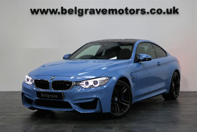 used BMW M4 DCT AUTO HARMAN KARDON HUGE SPEC COUPE 2DR 425 BHP in sheffield