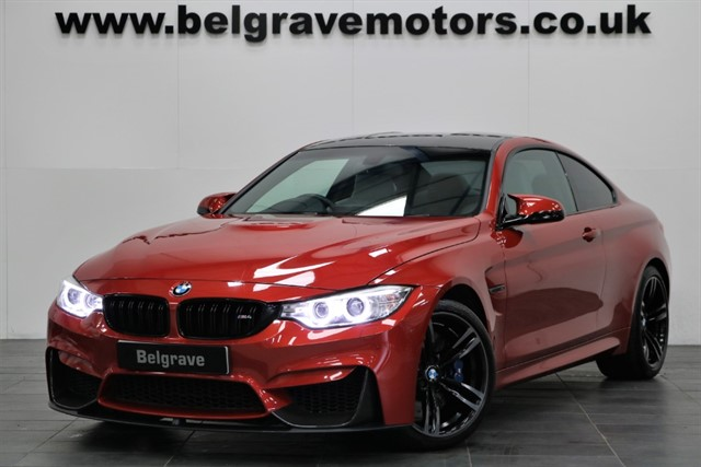 used BMW M4 DCT HUGE SPEC CARBON PACK PRO SAT NAV & MEDIA in sheffield
