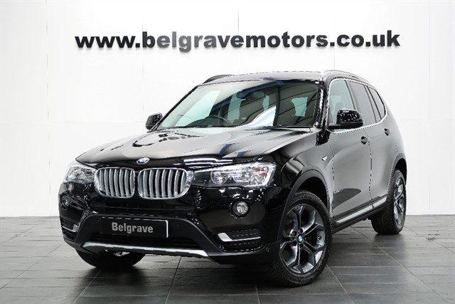 used BMW X3 XDRIVE30D XLINE - NOW RESERVED in sheffield