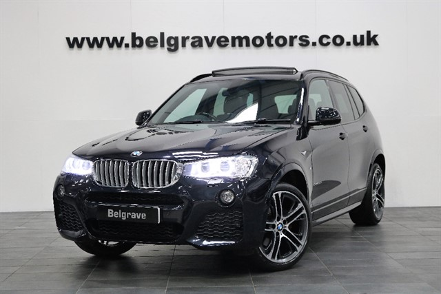 used BMW X3 XDRIVE30D M SPORT PAN ROOF HUGE SPEC PROFESSIONAL MEDIA HARMAN KARDON 47+MPG in sheffield