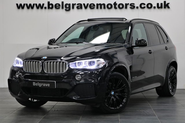 used BMW X5 XDRIVE40E M SPORT PAN ROOF HUGE SPEC HARMON KARDON 360 CAMERA 85+MPG in sheffield