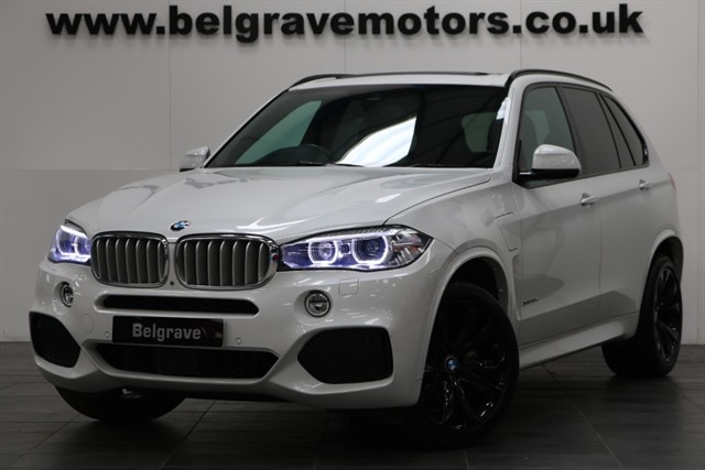used BMW X5 XDRIVE40E M SPORT PAN ROOF HEAD UP DISPLAY 360 CAM 4WD HYBRID 85+MPG in sheffield