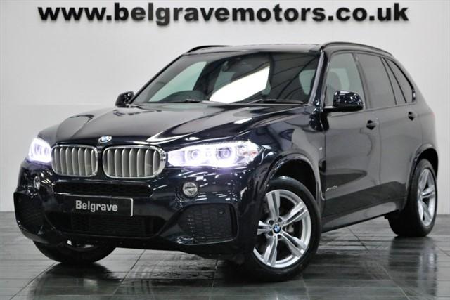 used BMW X5 XDRIVE40D M SPORT 313 BHP 47+MPG in sheffield