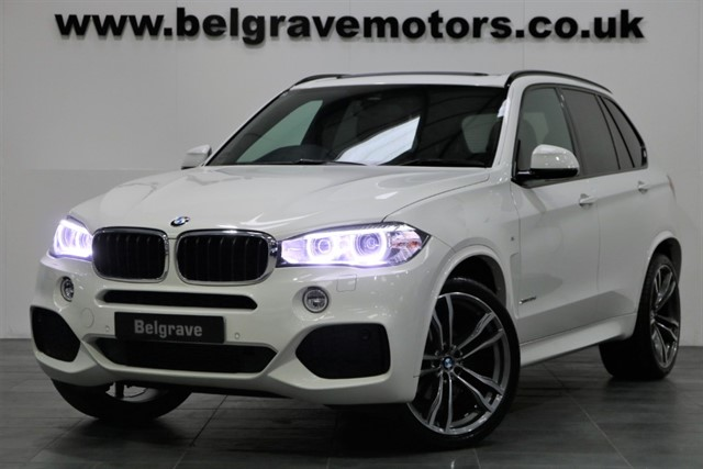 used BMW X5 XDRIVE30D M SPORT PAN ROOF 22