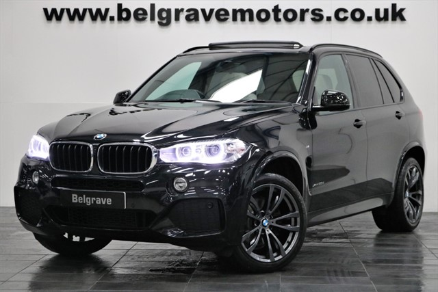 used BMW X5 XDRIVE30D M SPORT 7 SEATS PAN ROOF 20