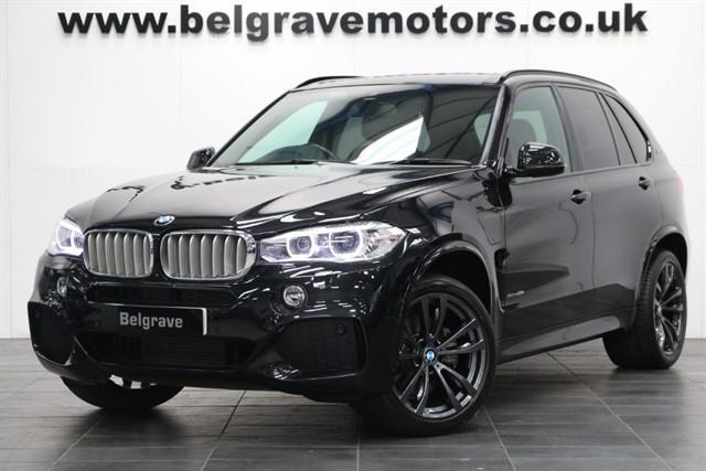 used BMW X5 XDRIVE40E M SPORT HUGE SPEC HARMON KARDON HEAD UP DISPLAY 20