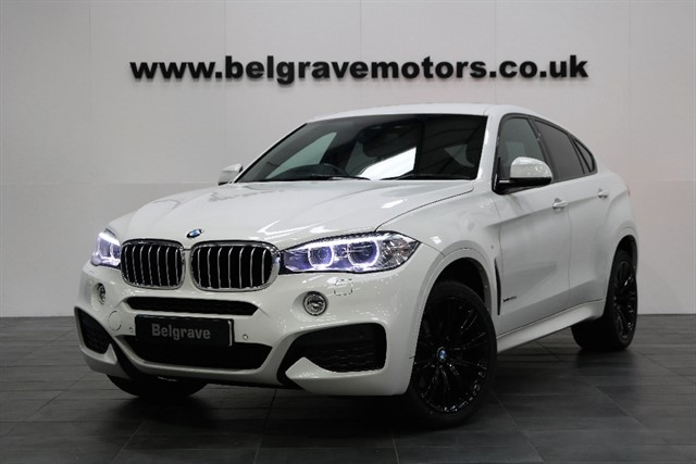 used BMW X6 XDRIVE40D M SPORT 20