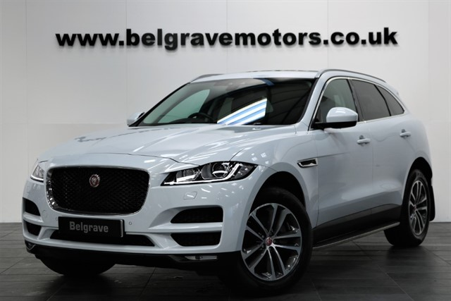 used Jaguar F-Pace PORTFOLIO AWD AUTO PAN ROOF 19