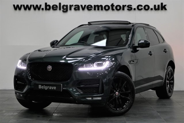 used Jaguar F-Pace R-SPORT AWD PAN ROOF BLACK PACK HUGE SPEC 4X4 54+MPG in sheffield