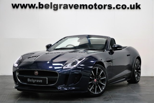 used Jaguar F-Type V6 SUPERCHARGED MEGA SPEC R DYNAMIC STYLING SWITCHABLE EXHAUST QUICKSHIFT ROADSTER 340 BHP in sheffield