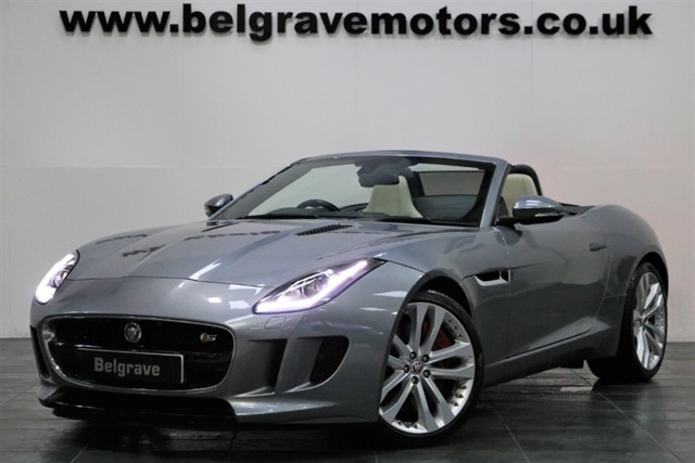 used Jaguar F-Type V6 S GREAT SPEC SWITCHABLE EXHAUST 20