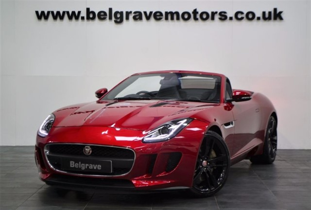 used Jaguar F-Type V6 SUPERCHARGED AUTO QUICKSHIFT 20