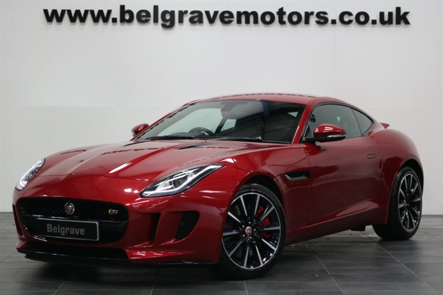 used Jaguar F-Type V6 S 380 BHP- NOW SOLD in sheffield