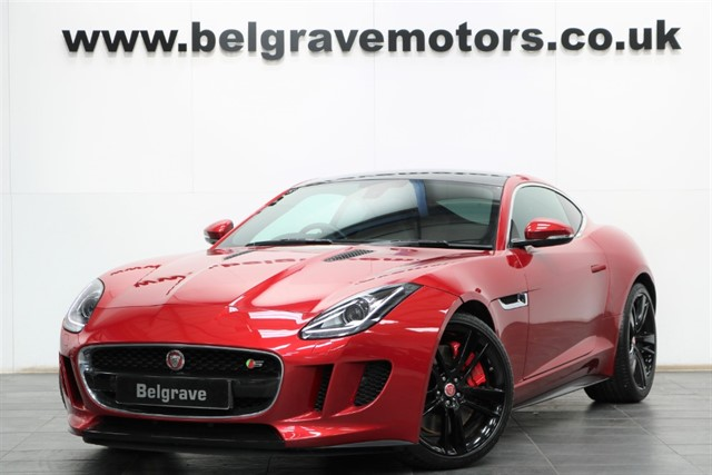 used Jaguar F-Type V6 S 380 BHP HUGE SPEC AUTO PAN ROOF 20
