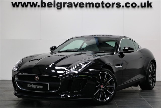 used Jaguar F-Type V6 SUPERCHARGED AUTO PAN ROOF 19