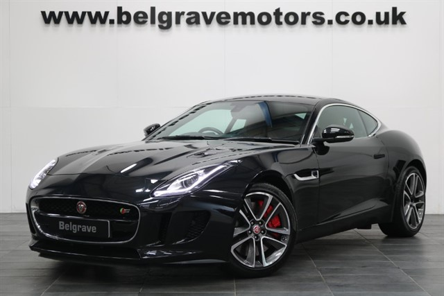used Jaguar F-Type V6 S AWD 380 BHP QUICKSHIFT AUTO PERFORMANCE SPORT SEATS 4WD COUPE in sheffield
