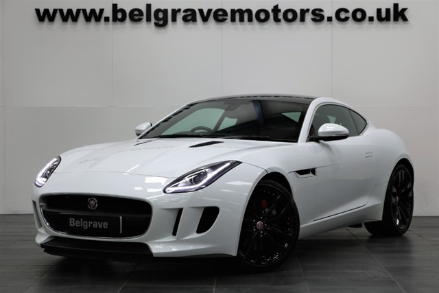 used Jaguar F-Type V6 SUPERCHARGED AUTO PAN ROOF SWITCHABLE EXHAUST QUICKSHIFT COUPE in sheffield