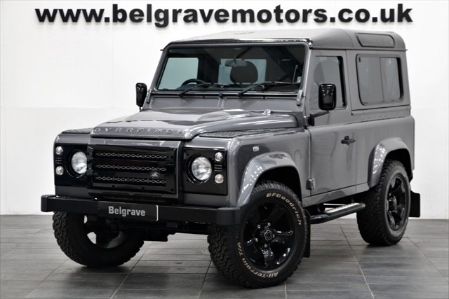 used Land Rover Defender TD XS STATION WAGON OVERFINCH URBAN DEFENDER 90 SAT NAV BLACK ROOF in sheffield