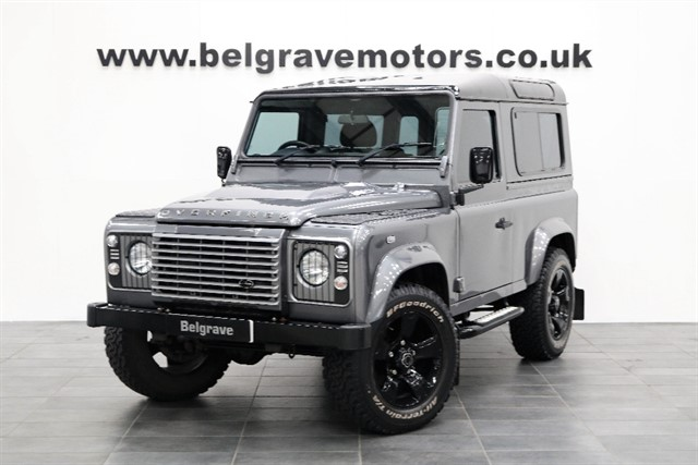 used Land Rover Defender TD XS STATION WAGON OVERFINCH URBAN TRUCK SAT NAV GREAT SPEC 90 NO VAT in sheffield