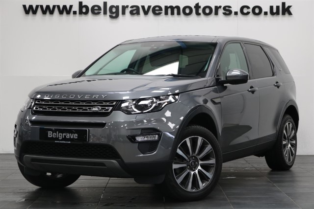 used Land Rover Discovery Sport TD4 SE 7 SEATS 19