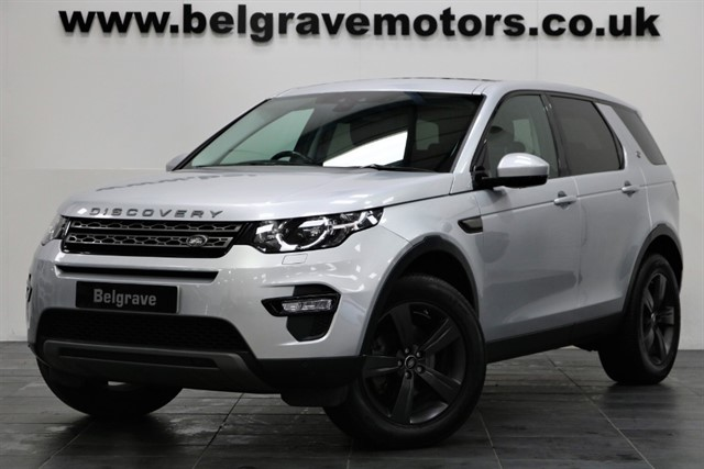 used Land Rover Discovery Sport TD4 SE TECH PANORAMIC SUNROOF 7 SEATS 4WD 180 BHP 53+MPG in sheffield