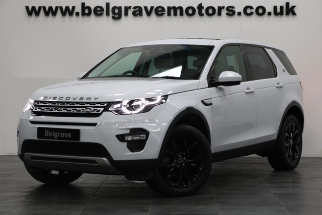 used Land Rover Discovery Sport TD4 HSE BLACK ALLOYS PAN ROOF 7 SEATS SAT NAV PRIVACY 4WD 53+MPG in sheffield