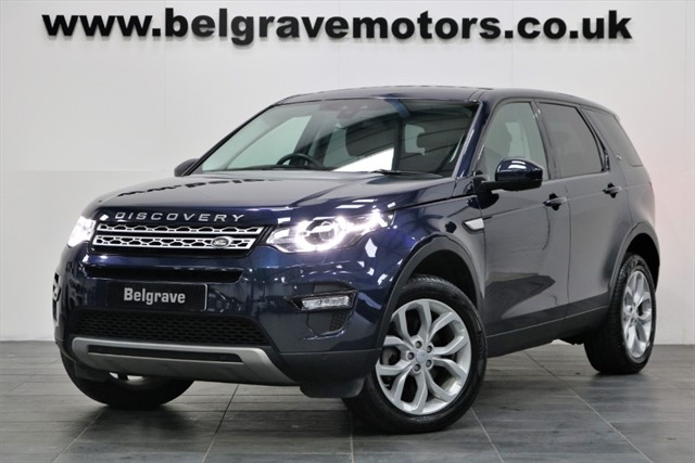 used Land Rover Discovery Sport TD4 AUTO HSE PAN ROOF 7 SEATS HUGE SPEC 4X4 53+MPG in sheffield