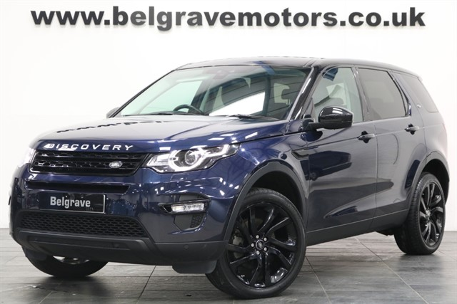 used Land Rover Discovery Sport TD4 AUTO HSE BLACK PAN ROOF 180 BHP 4X4 53+MPG in sheffield