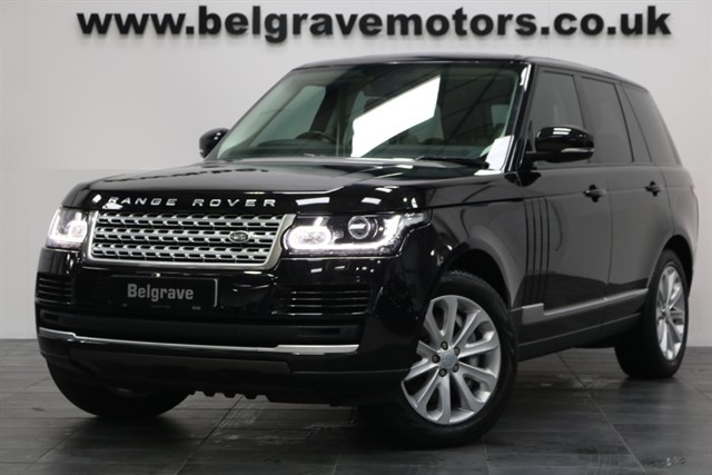 used Land Rover Range Rover SDV8 VOGUE PAN ROOF PRIVACY HUGE SPEC in sheffield