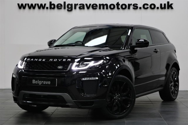 used Land Rover Range Rover Evoque TD4 HSE DYNAMIC LUX AUTO HUGE SPEC PAN ROOF NEW MODEL 180 BHP 57+MPG in sheffield