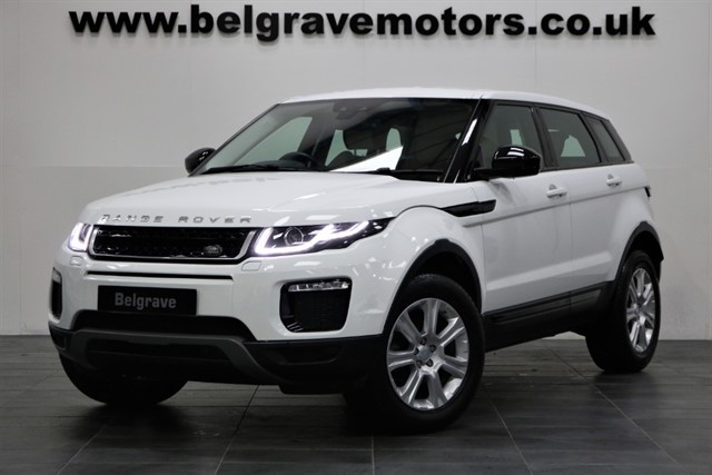 used Land Rover Range Rover Evoque ED4 SE TECH LOW MILEAGE 5DR 65+MPG in sheffield