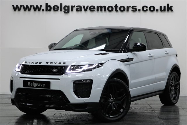 used Land Rover Range Rover Evoque TD4 HSE DYNAMIC PAN ROOF AUTO 5DR 55+MPG in sheffield