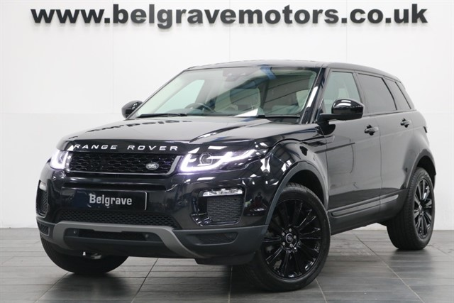 used Land Rover Range Rover Evoque ED4 SE TECH PAN ROOF SAT NAV �30 TAX 5DR 65+MPG in sheffield