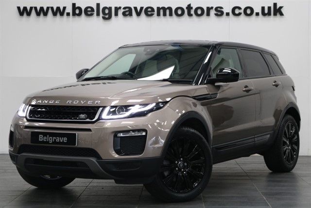 used Land Rover Range Rover Evoque TD4 SE TECH AUTO PAN ROOF SAT NAV XENONS 180 BHP NEW MODEL 5DR 4WD 55+MPG in sheffield