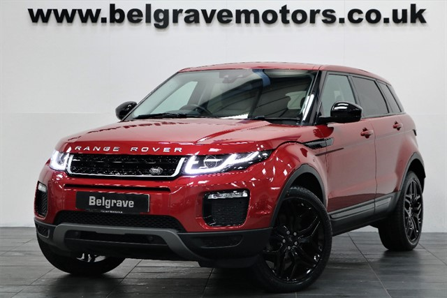 used Land Rover Range Rover Evoque TD4 SE TECH AUTO PAN ROOF SAT NAV 20
