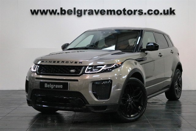 used Land Rover Range Rover Evoque TD4 HSE DYNAMIC BLACK PACK 180 BHP NEW MODEL GREAT SPEC 5DR 4X4 58+MPG in sheffield