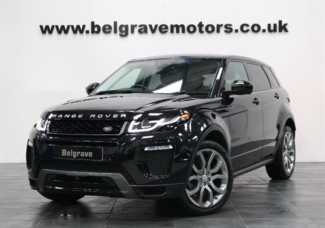 used Land Rover Range Rover Evoque TD4 HSE DYNAMIC LUX AUTO PAN ROOF HUGE SPEC NEW MODEL 180 BHP 5DR 55+MPG in sheffield