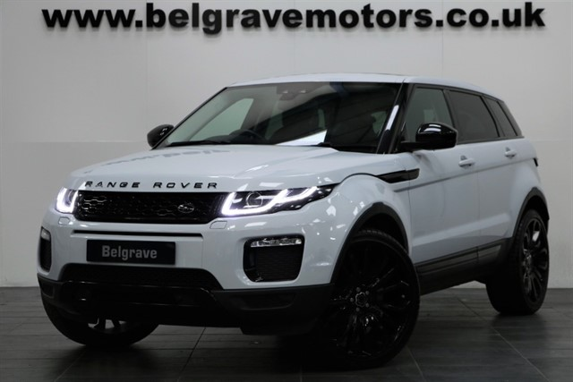 used Land Rover Range Rover Evoque TD4 SE TECH 4WD PAN ROOF 22