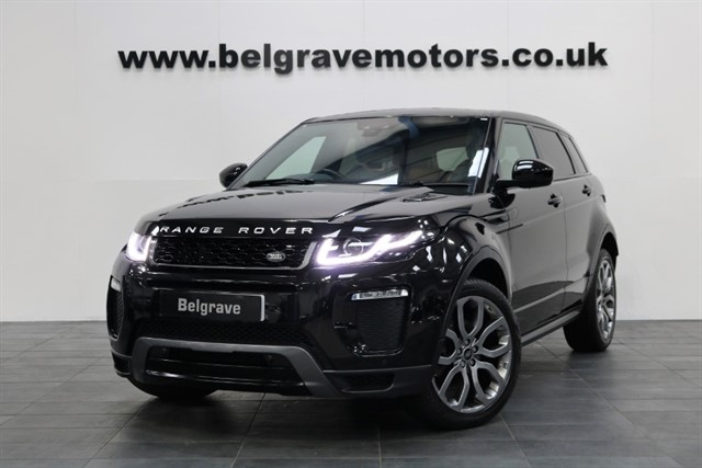 used Land Rover Range Rover Evoque TD4 HSE DYNAMIC AUTO 180 BHP NEW MODEL GREAT SPEC 4X4 55+MPG in sheffield