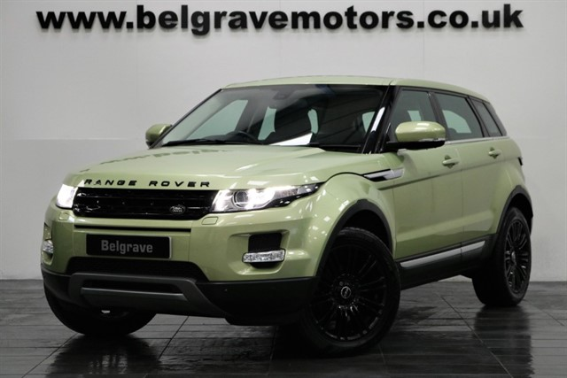used Land Rover Range Rover Evoque SD4 PRESTIGE LUX PAN ROOF 4WD 5DR 49+MPG in sheffield