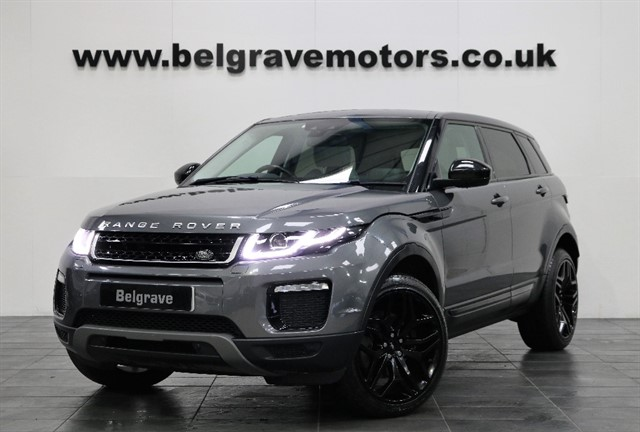 used Land Rover Range Rover Evoque TD4 SE TECH PAN ROOF SAT NAV 19