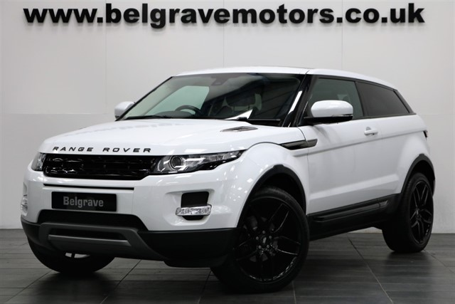 used Land Rover Range Rover Evoque SD4 PURE PAN ROOF 20