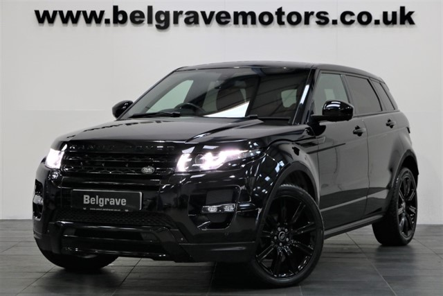 used Land Rover Range Rover Evoque SD4 DYNAMIC LUX PACK HUGE SPEC PANORAMIC ROOF SAT NAV TV LEATHER in sheffield