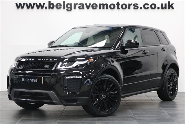 used Land Rover Range Rover Evoque TD4 HSE DYNAMIC AUTO 180 BHP NEW MODEL 20