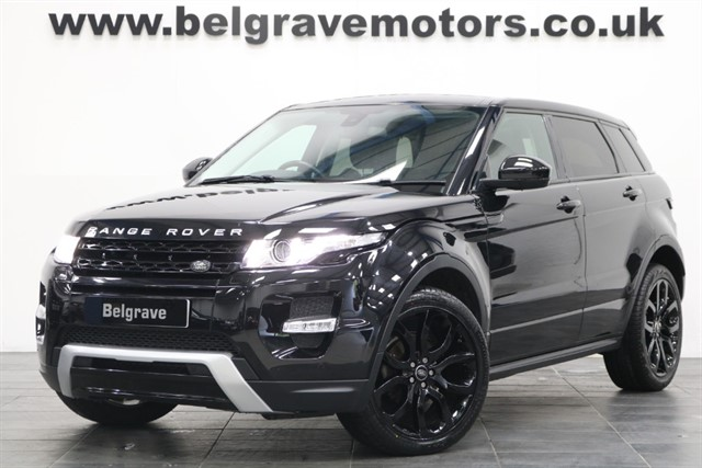 used Land Rover Range Rover Evoque SD4 DYNAMIC PAN ROOF 5DR 49+MPG in sheffield