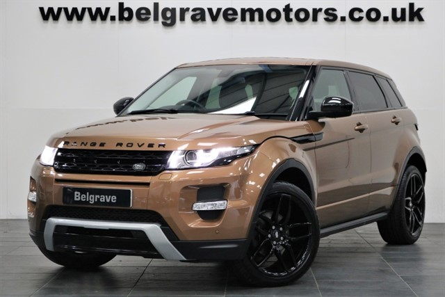 used Land Rover Range Rover Evoque SD4 DYNAMIC 4X4 5DR 49+MPG in sheffield