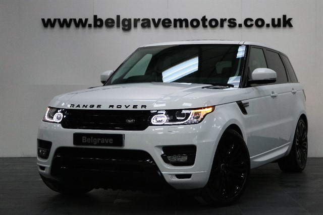 used Land Rover Range Rover Sport SDV6 HSE ULTIMATE SPEC PAN ROOF AUTOBIOGRAPHY STYLING 7 SEATS REAR ENTERTAINMENT in sheffield